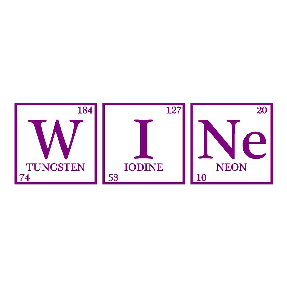 Wine Chemicals Wall Decals