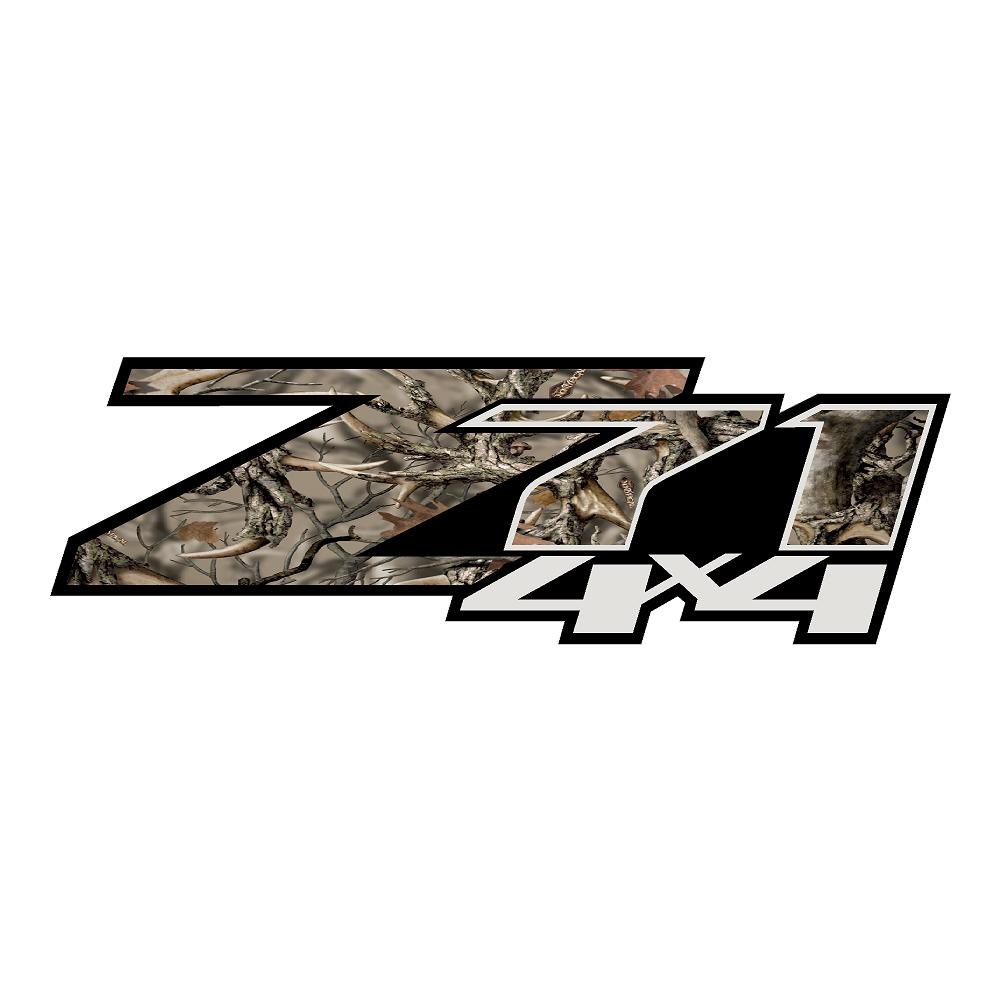 Z71 Antler Camo Stickers Chevrolet Decals Truck Stickers