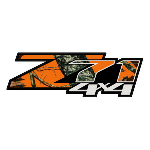 Z71 Grey Blaze Camo Stickers Chevy Decals Truck Stickers