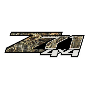 Z71 Grey Grass Camo Stickers Chevy Decals Chevrolet
