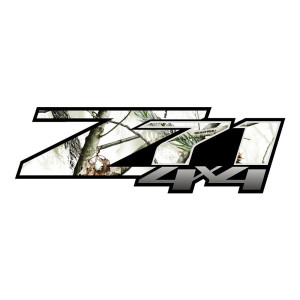 Z71 Snow Camo Laminated Chevy Stickers Truck Decals